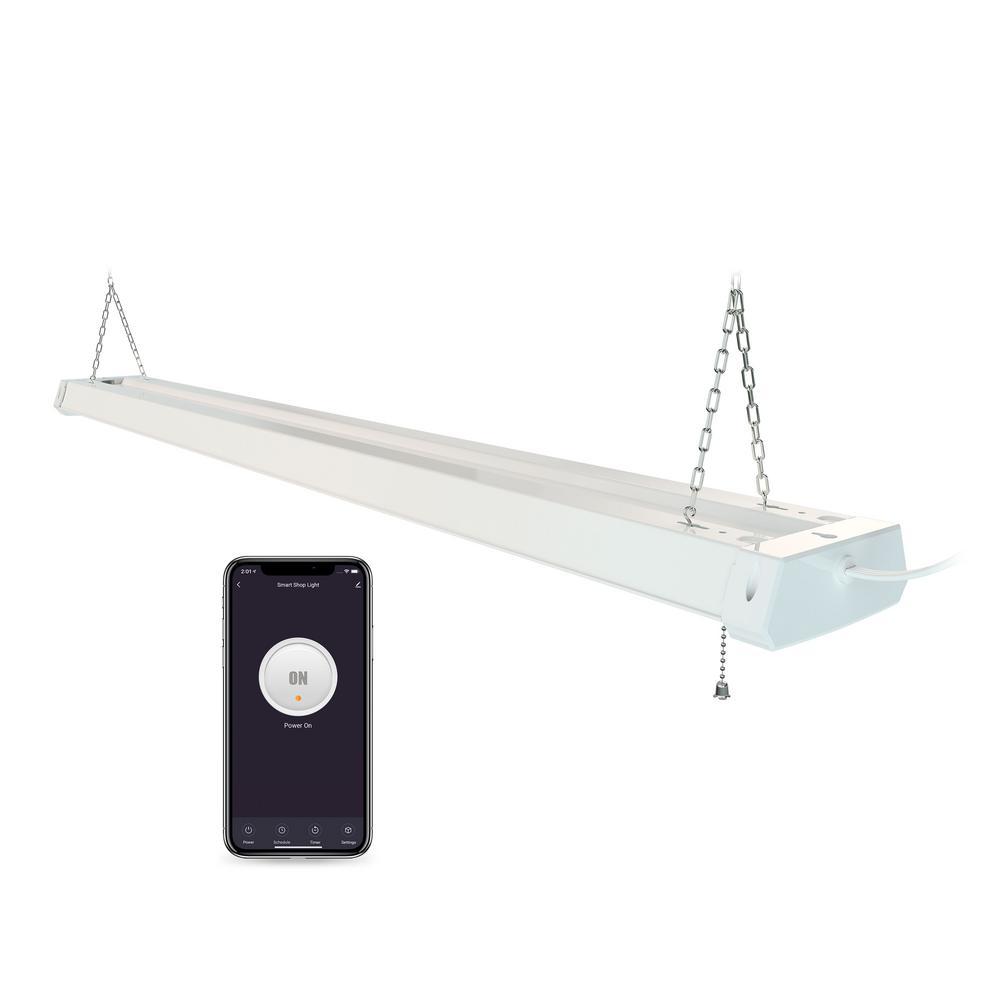 4 ft. Smart Wi-Fi LED Shop Light