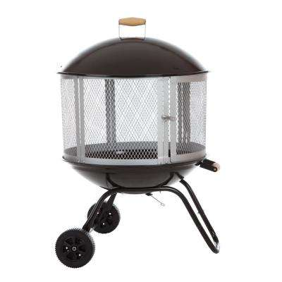 28 in. Bessemer Patio Fireplace