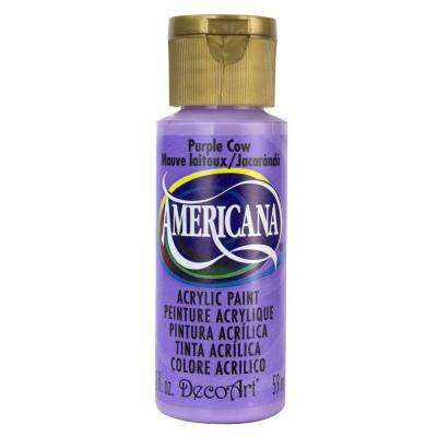 Americana 2 oz. Purple Cow Acrylic Paint