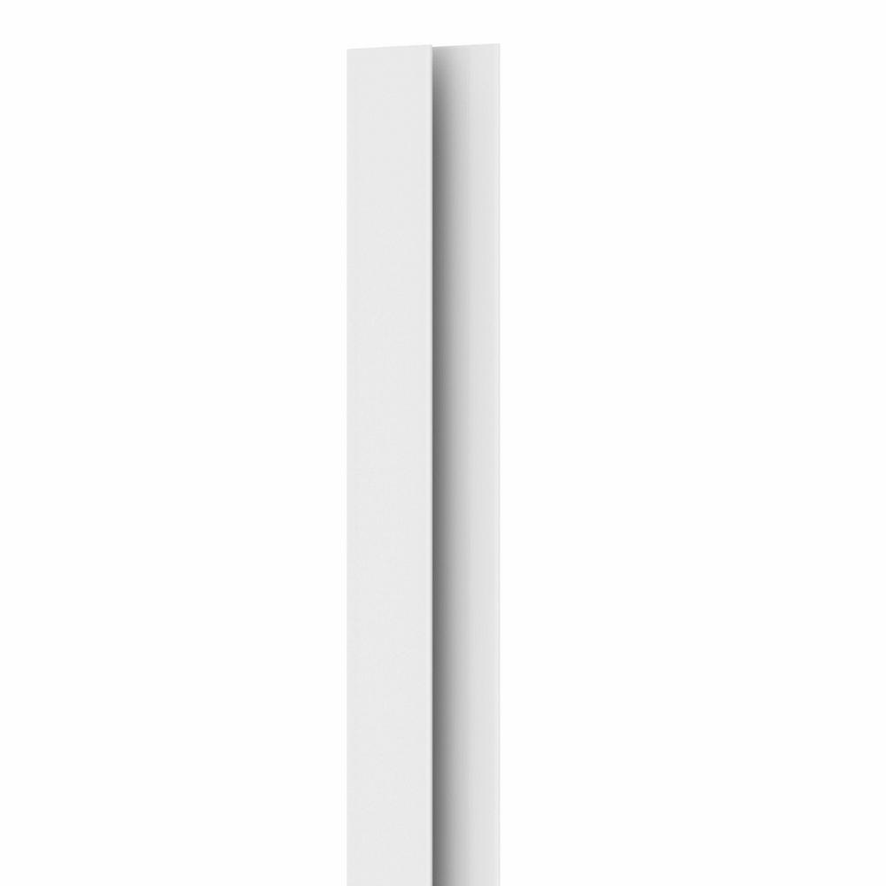 852 1/2 in. x 3/4 in. x 8 ft. PVC Composite White Outside Corner Moulding