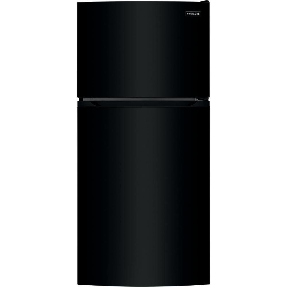 Frigidaire 13.9 cu. ft. Top Freezer Refrigerator in Black, ENERGY STAR
