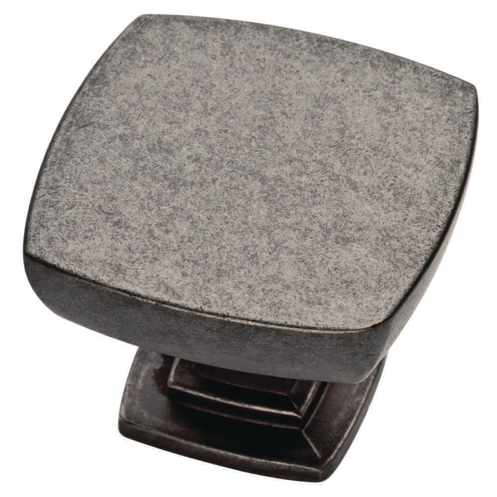 Webber 1-3/8 in. Soft Iron Cabinet Knob