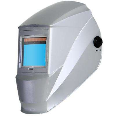 Super Light Solar Power Auto Darkening Welding Helmet with Large Viewing Size 3.86 in. x 2.5 in. Great for MMA, MIG, TIG