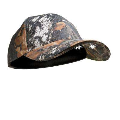 POWERCAP Camo LED Hat 25/10 Ultra-Bright Hands Free Lighted Battery Powered Headlamp Mossy Oak Infinity Structured