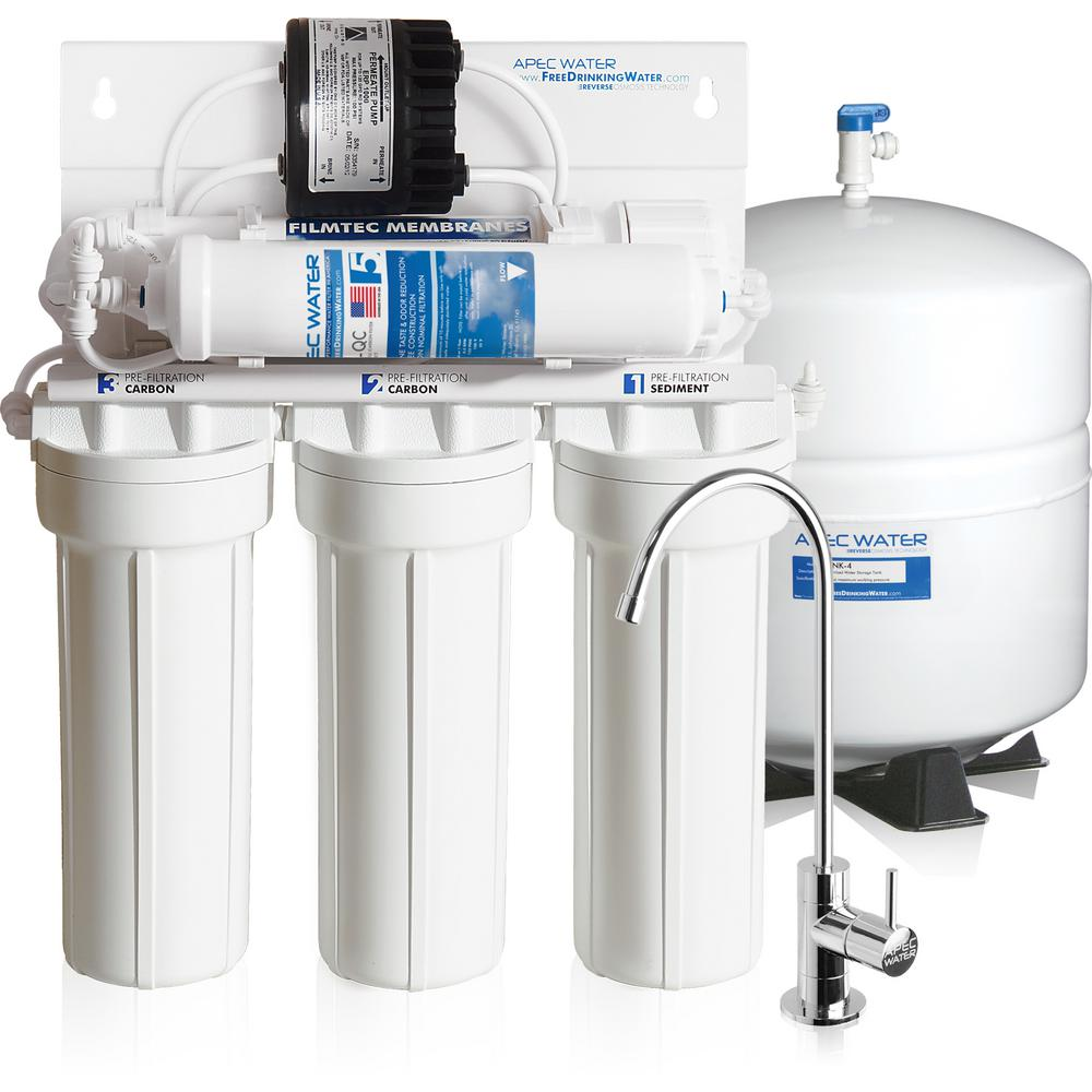 Ultimate Premium Quality Permeate Pumped Under-sink RO Drinking Water System for