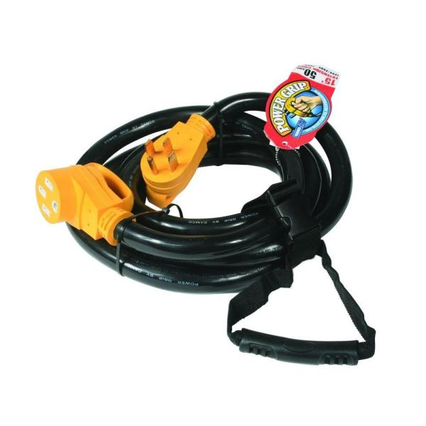 15 ft. 50-Amp Power Grip Extension Cord