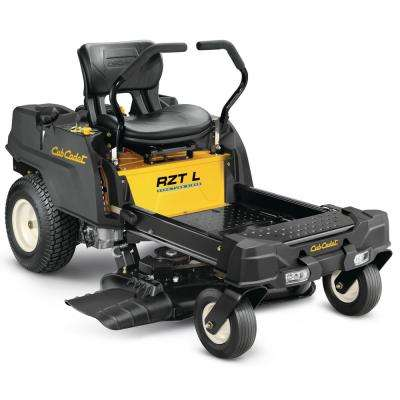 RZT-L 34 in. 452 cc Single-Cylinder Dual Hydrostatic Zero Turn Riding Mower with Lap Bar Control and Headlights