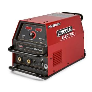 Lincoln Electric 425 Amp Invertec V350 PRO Multi-Process Welder (Factory Model) with 2 Twist Mate Plugs,... by Loln Electric