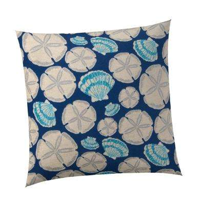 Cape May Square Outdoor Throw Pillow