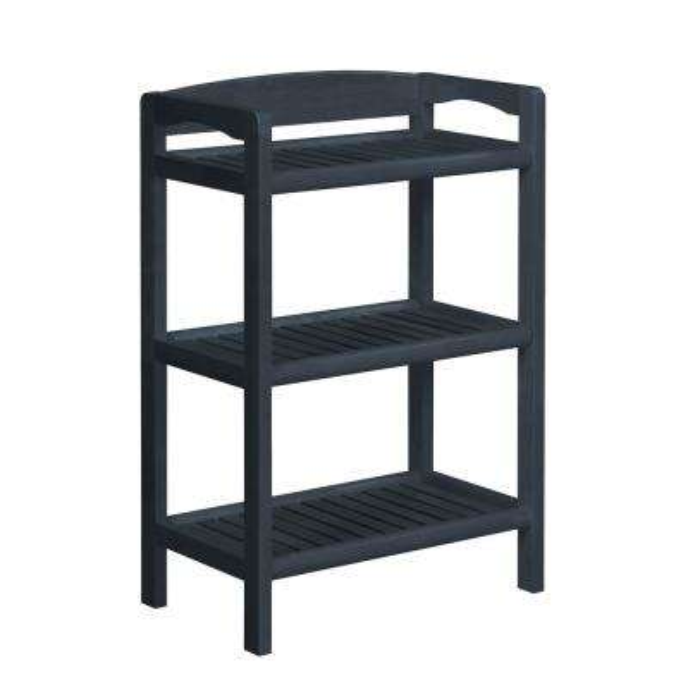 Abingdon Graphite Adjustable Bookcase