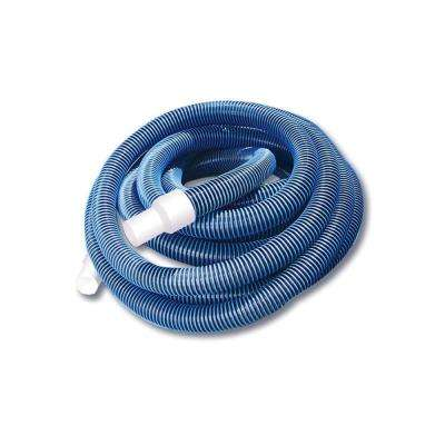 35 ft. x 1.5 in. Blue Extruded EVA In-Ground Swimming Pool Vacuum Hose with Swivel Cuff