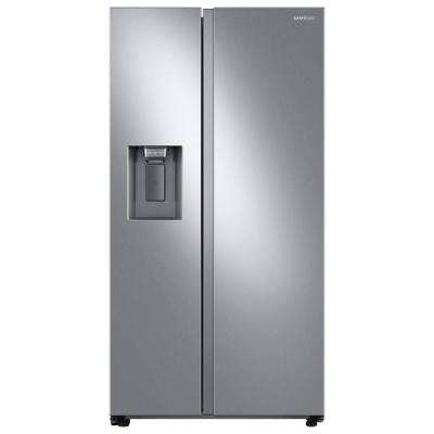 22.0 cu. ft. Side by Side Refrigerator in Fingerprint Resistant Stainless Steel, Counter Depth