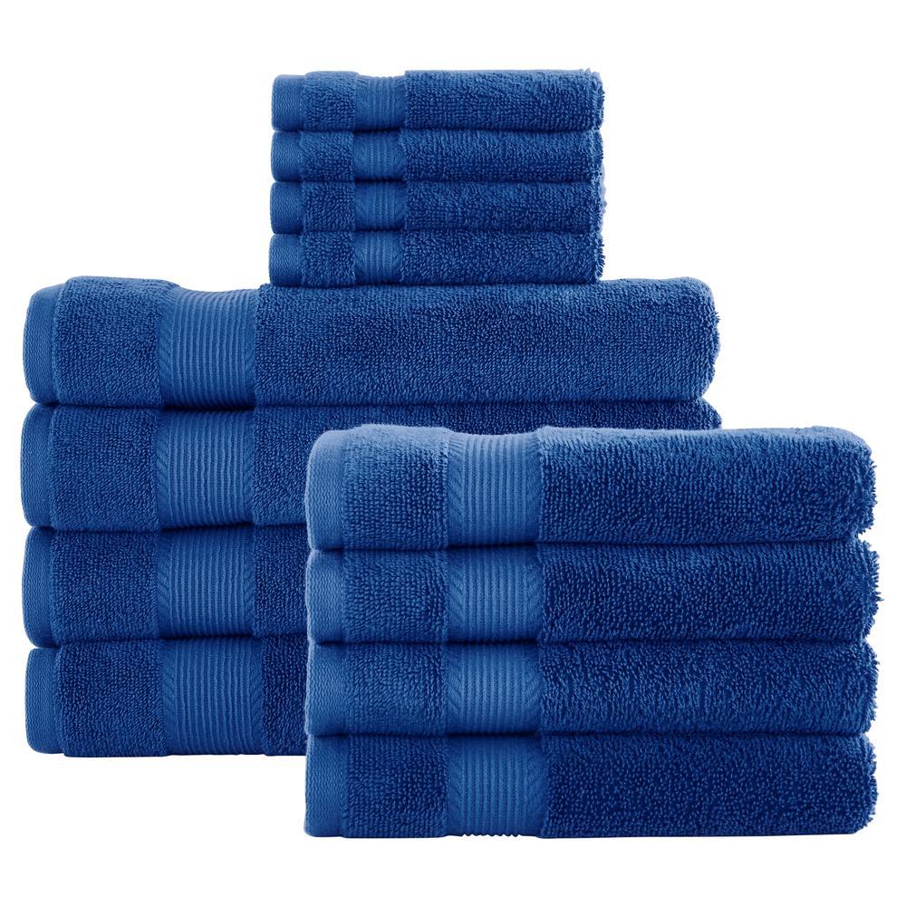 12-Piece Hygrocotton Towel Set in Mariner