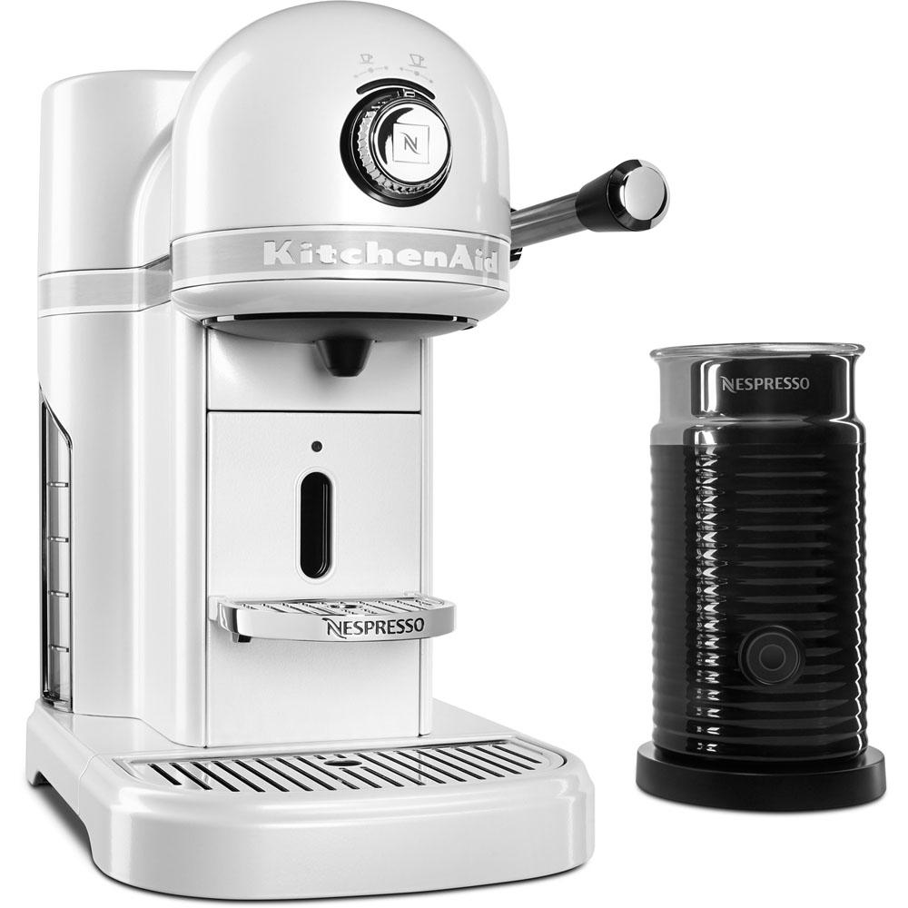 Kitchenaid Nespresso 5 Cup Espresso Machine And Milk Frother