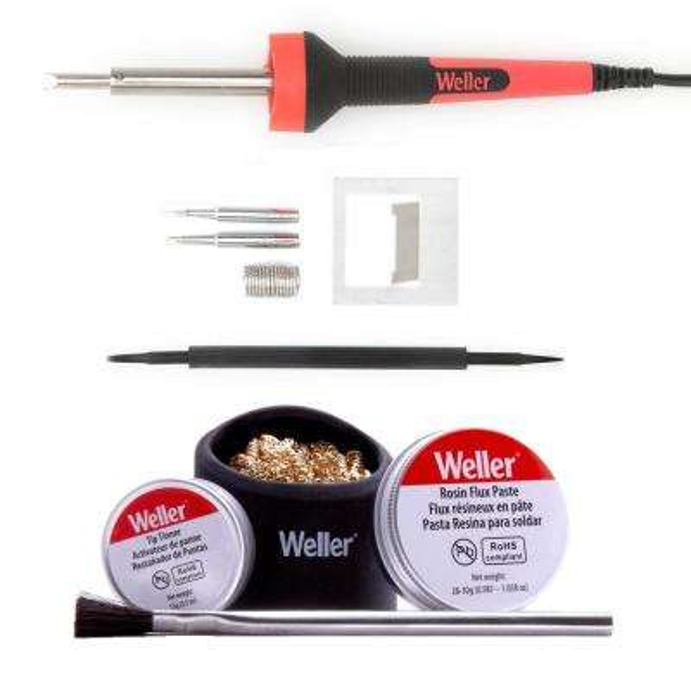 25-Watt Standard Duty Soldering Iron and Accessory Combo Kit
