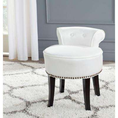 Modern Wood Makeup Vanity Stool Makeup Vanities Bedroom