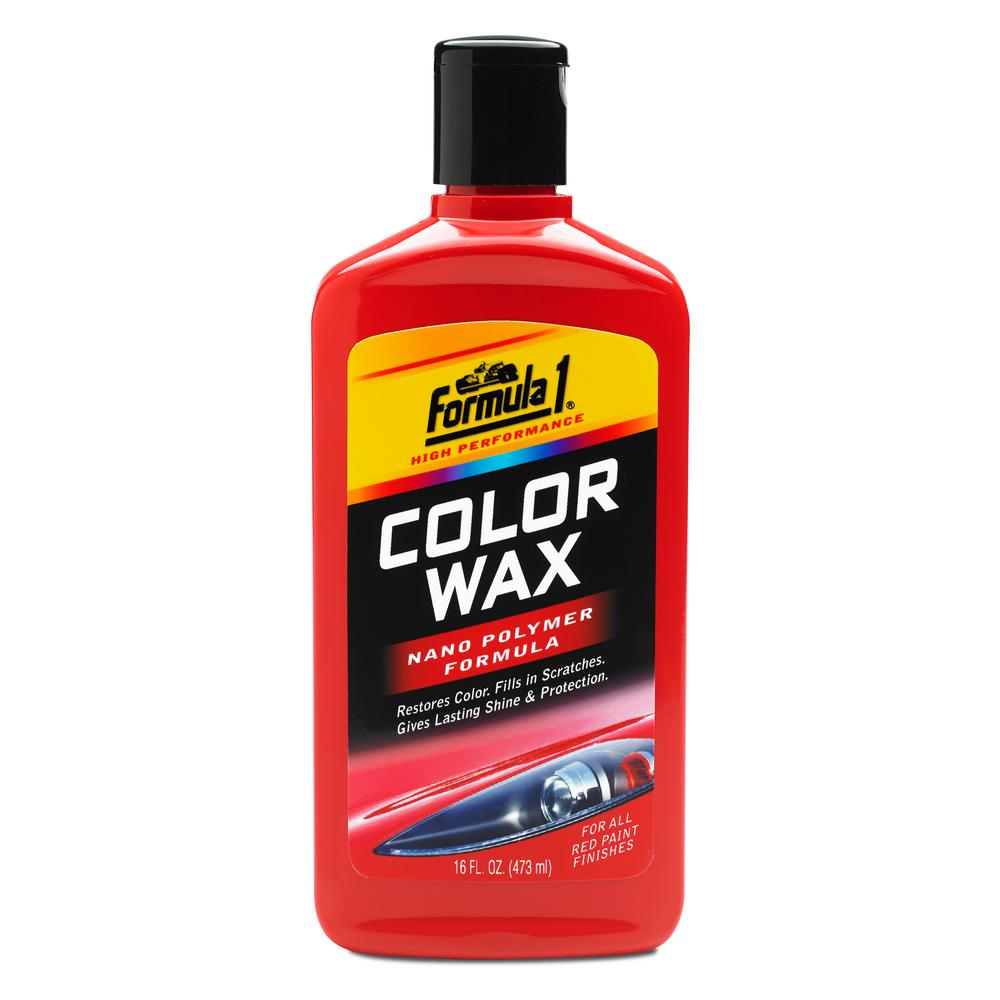 Formula 1 Red Color Wax