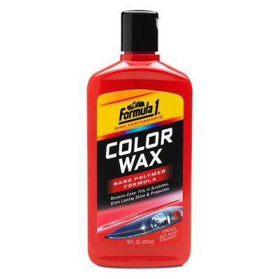 Red Color Wax