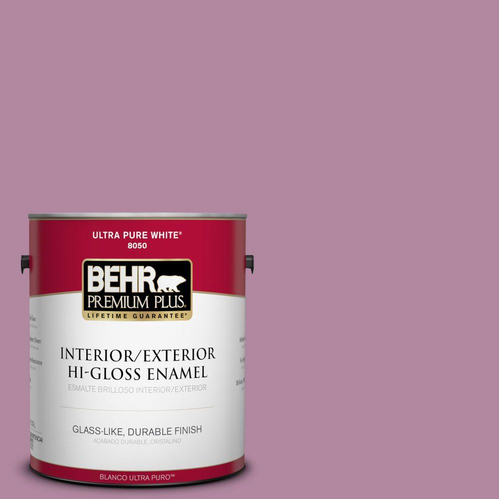 1-gal. #690D-5 Winsome Rose Hi-Gloss Enamel Interior/Exterior Paint
