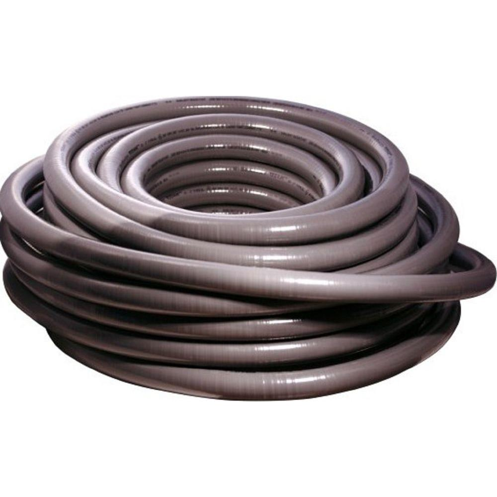 Southwire 1 4 In X 50 Ft Ultratite Liquidtight Flexible Non Pvc Pipe Conduit Duct For Electric Communication Industries