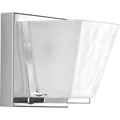 Streaming Collection 1-Light Polished Chrome Vanity Light