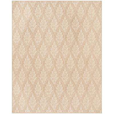 Palm Beach Sand/Natural 8 ft. x 10 ft. Area Rug