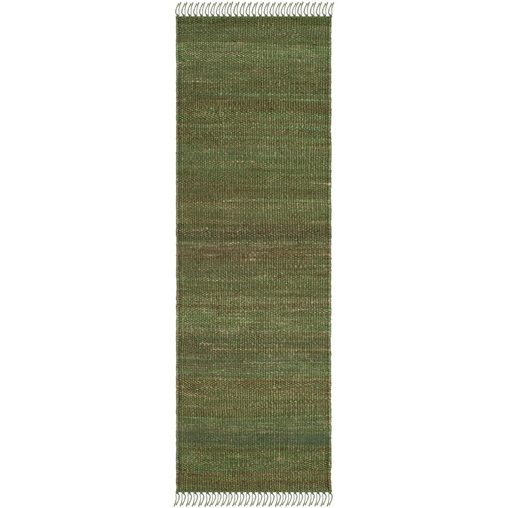 SAFAVIEH Safavieh Natural Fiber Green 2 ft. 6 in. x 8 ft. Indoor Runner Rug