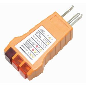 Power Gear 3-Wire Receptacle Tester-50542 - The Home Depot