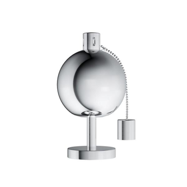 10 in. Stainless Steel Tabletop Torch Lamp
