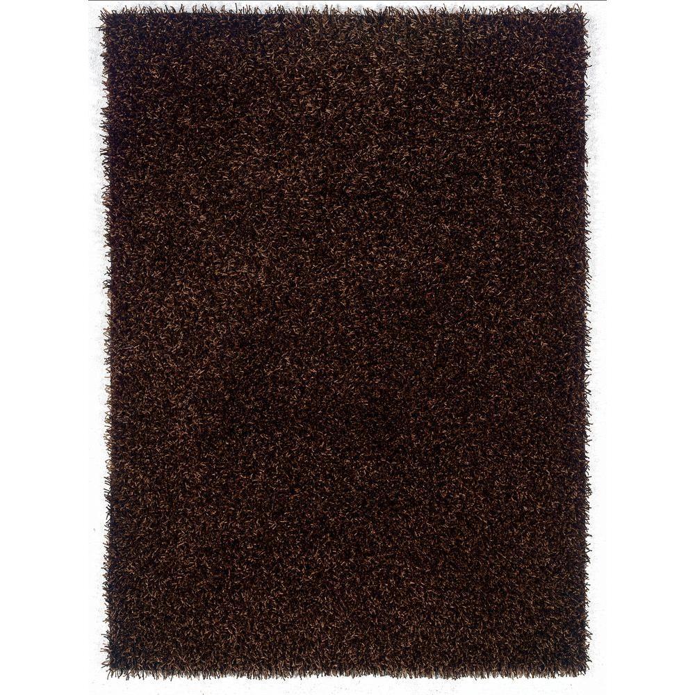 Linon Home Decor Confetti Brown And Beige 8 Ft. X 10 Ft