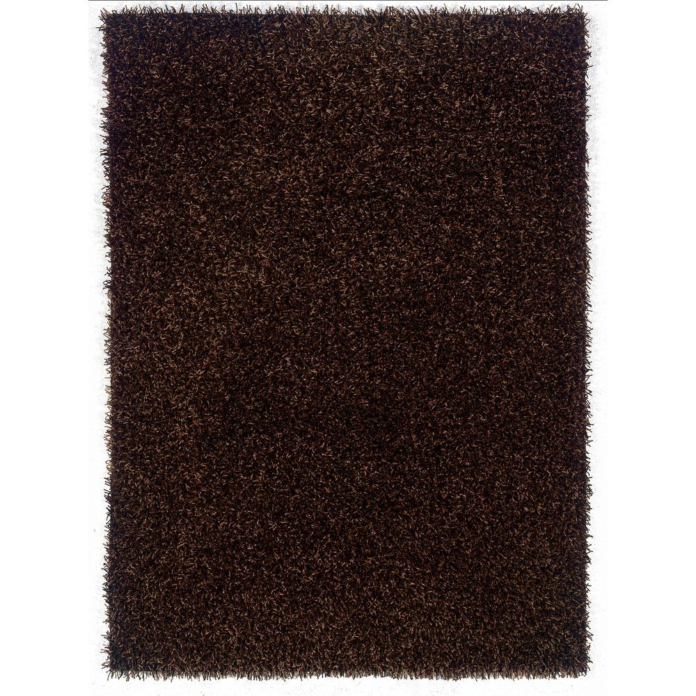 Linon Home Decor Confetti Brown and Beige 8 ft. x 10 ft. Area Rug