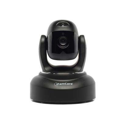 1080p Smart Wi-Fi Home Video Monitor with Pet Laser, Black