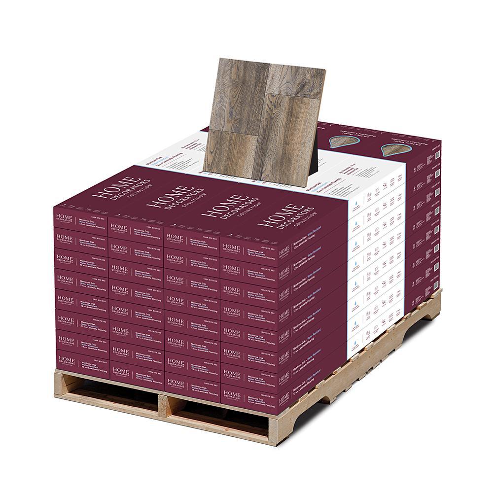 Montrose Oak 12 mm T x 7.5 in W x 50.67 in Length Water Resistant Laminate Flooring (589.44 sq. ft./pallet)