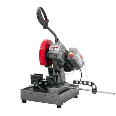 1 HP 225mm Ferrous Manual Bench Cold Metalworking Saw 115-Volt J-F225