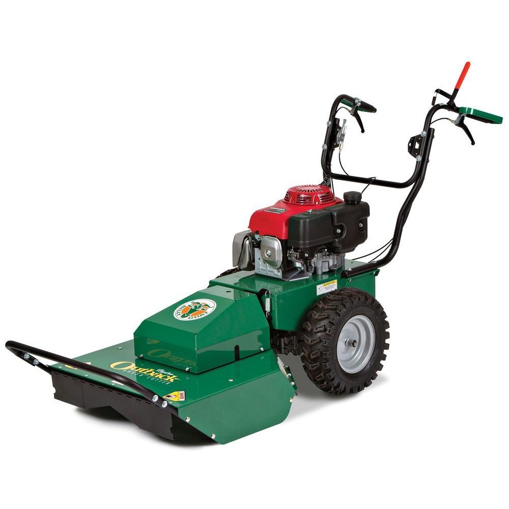 26 in. 388 cc Honda Engine Gas Pull Start Walk Behind Self Propelled Lawn Mower