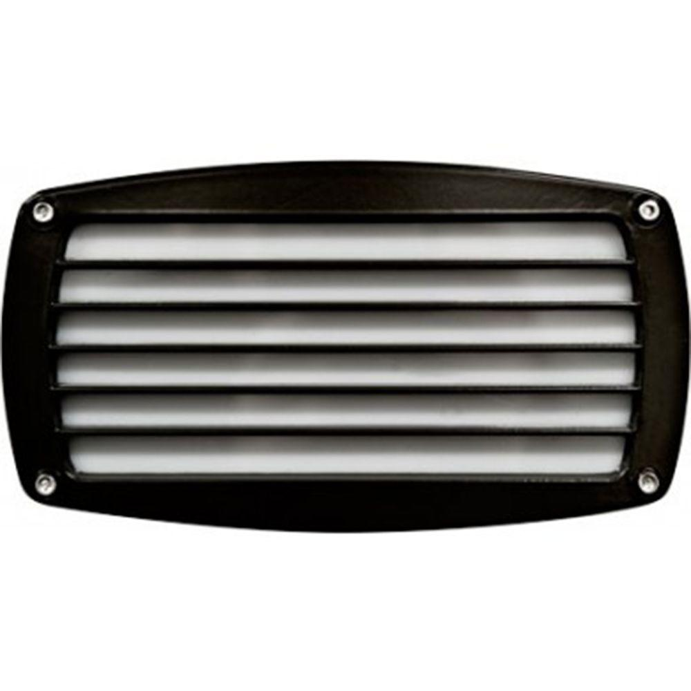 Filament Design Ashler 1 Light Black Outdoor Recessed Step Light Cli Dbm1683 The Home Depot