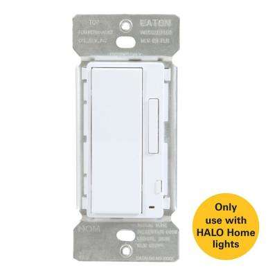 White In-Wall Accessory Dimmer for use with Home Lights