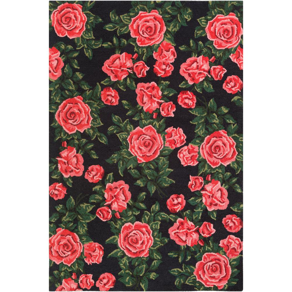 Artistic Weavers Botany Quinn Poppy Red 5 Ft X 7 6 In Indoor Area Rug Bot2479 576 The Home Depot
