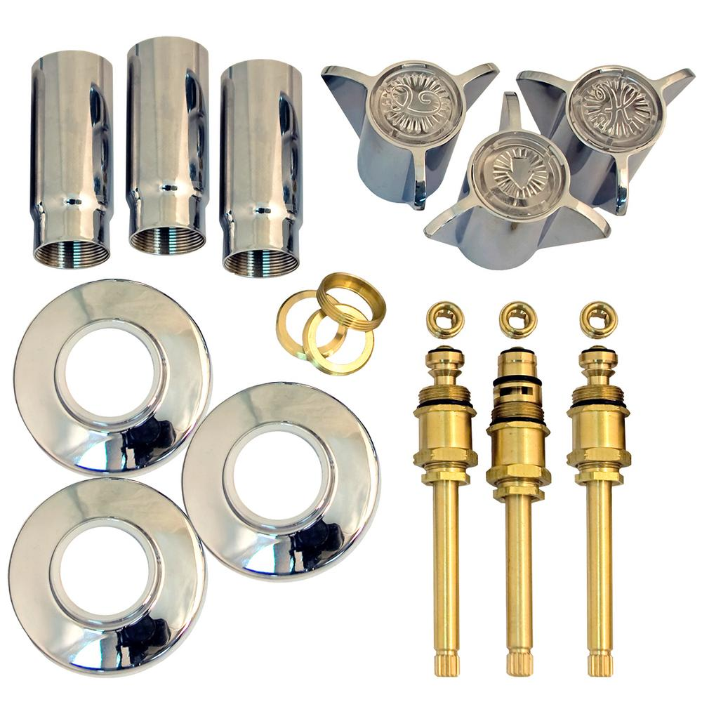 Lincoln Products Tub and Shower Rebuild Kit for Sayco Space Age 3