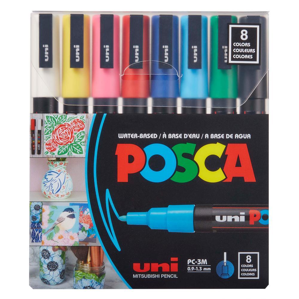 8 Color Piece-3M Fine Paint Market Set