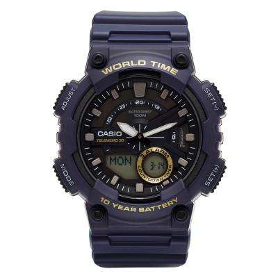 Men's Blue Analog Watch