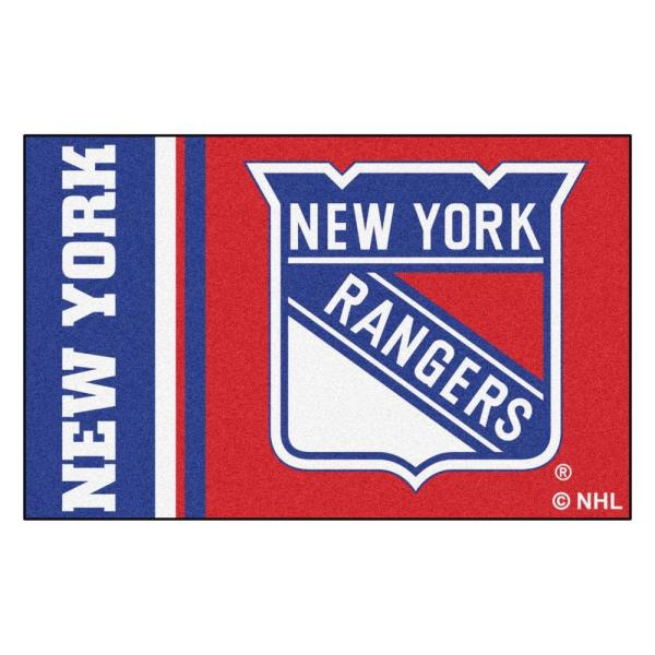 NHL - New York Rangers Red 2 ft. x 3 ft. Indoor Area Rug
