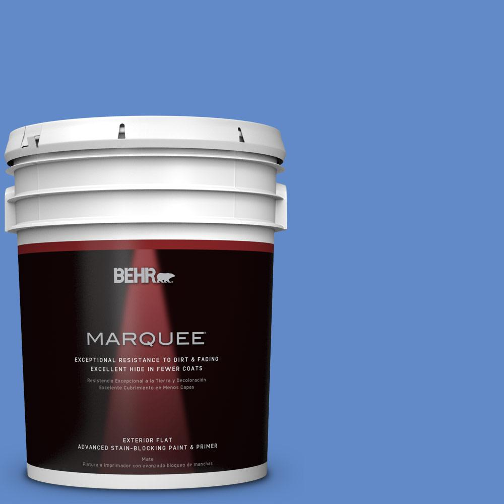 BEHR MARQUEE 5-gal. #P530-5 Integrity Flat Exterior Paint