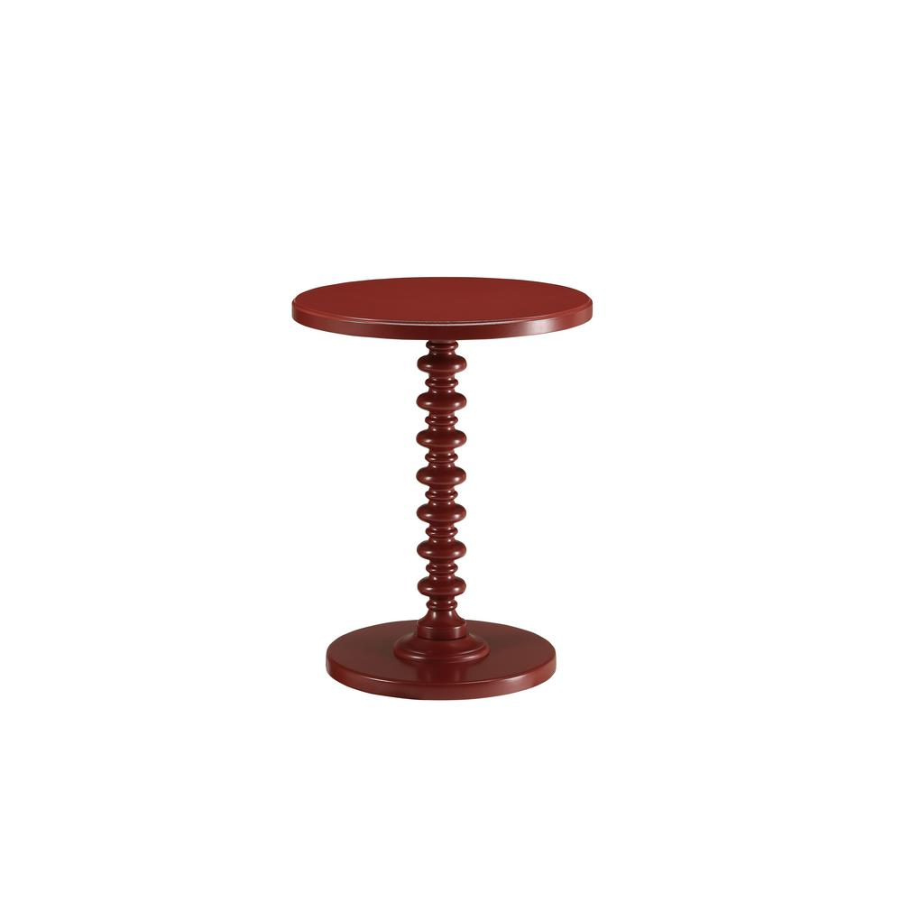 Acton Red Side Table