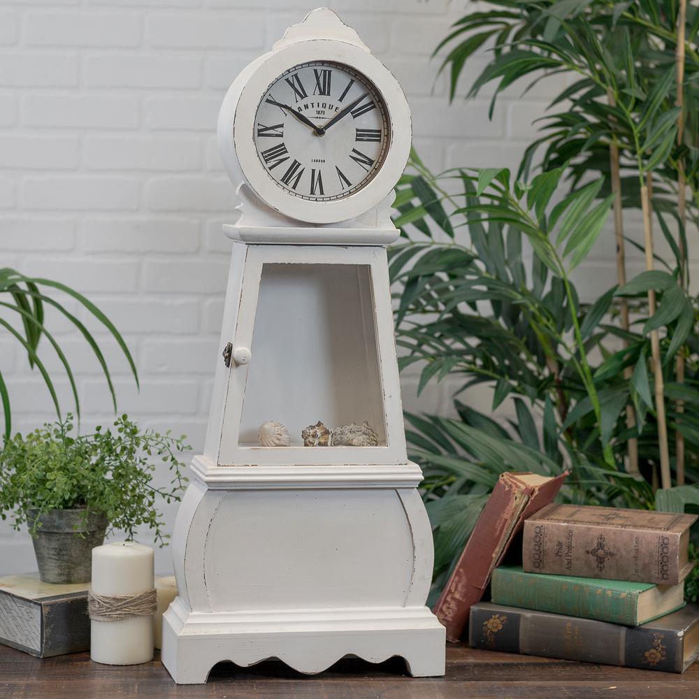 Standing Wood Clock