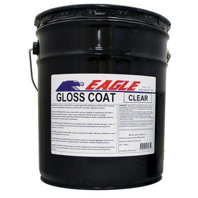 Gloss Coat Clear Wet Look Solvent Based Acrylic Concrete Sealer