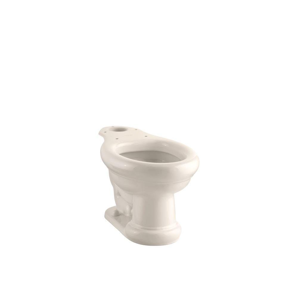 KOHLER Revival Elongated Toilet Bowl Only in Innocent Blush