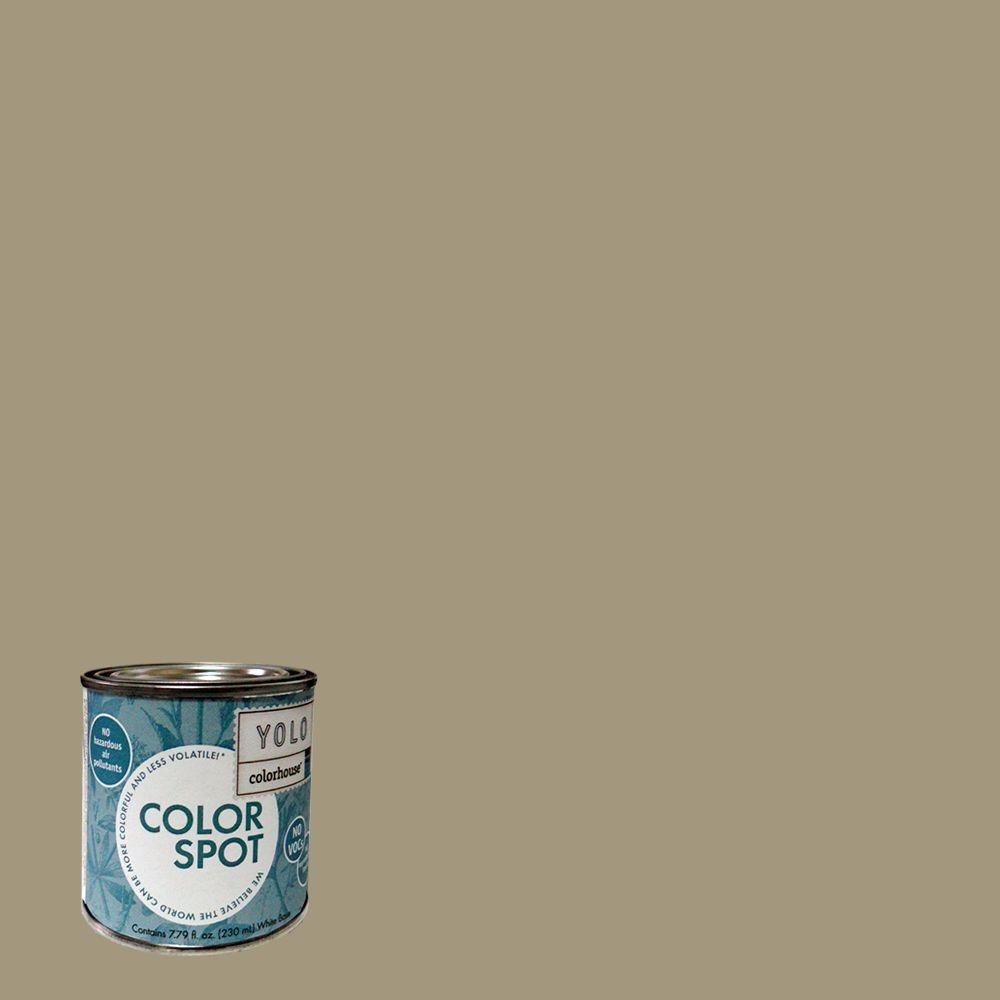 YOLO Colorhouse 8 oz. Nourish .04 ColorSpot Eggshell Interior Paint Sample-DISCONTINUED