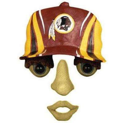14 in. x 7 in. Forest Face Washington Redskins