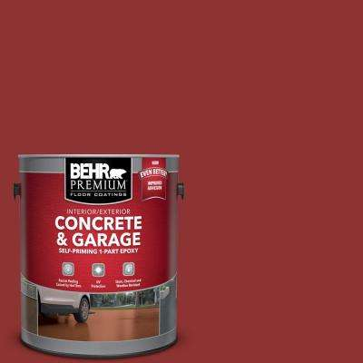 1 gal. #PPF-40 Rocking Chair Red Self-Priming 1-Part Epoxy Satin Interior/Exterior Concrete and Garage Floor Paint